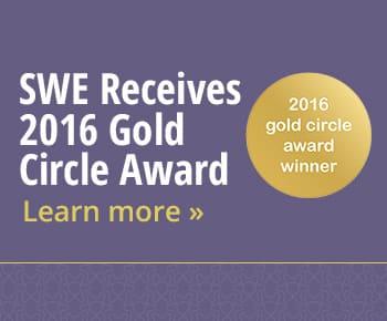 SWE Receives 2016 Gold Circle Award