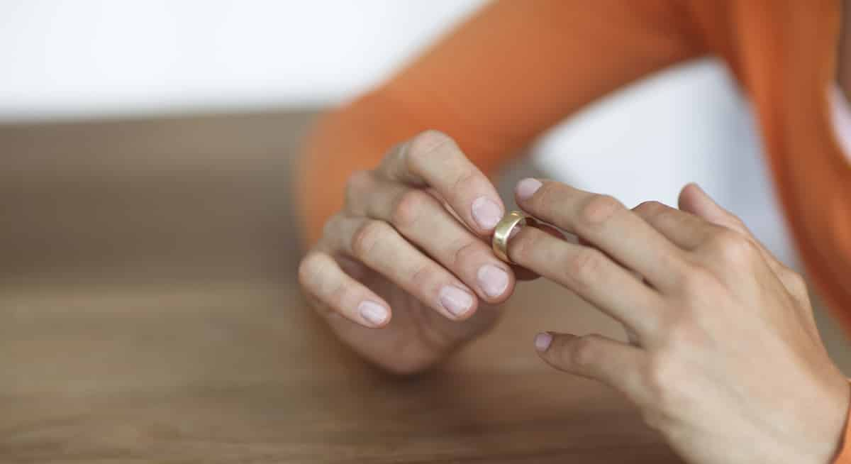 wedding ring - How To Wear Wedding Rings
