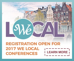 WE Local - Registration open for 2017 WE Local Conferences