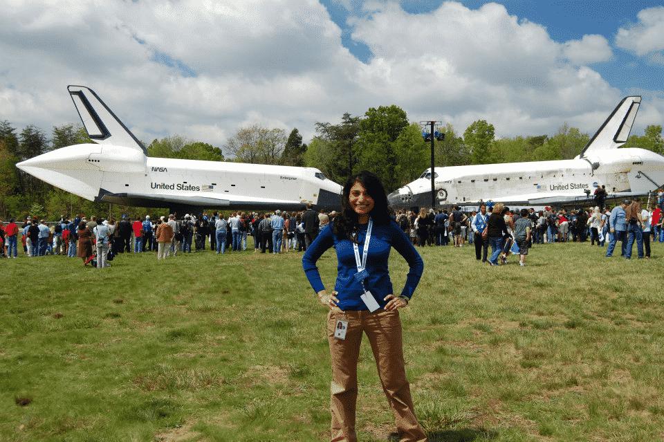 Mamta Patel Nagaraja, Ph.D., creator and program leader of NASA G.I.R.L.S. Credit: Courtesy of nasa.gov