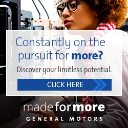 GM – Made for More