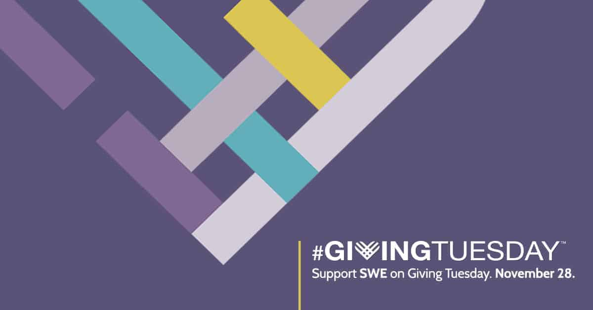 SWE's #GivingTuesday Campaign Features Linda Freeman and the Scholarship Program