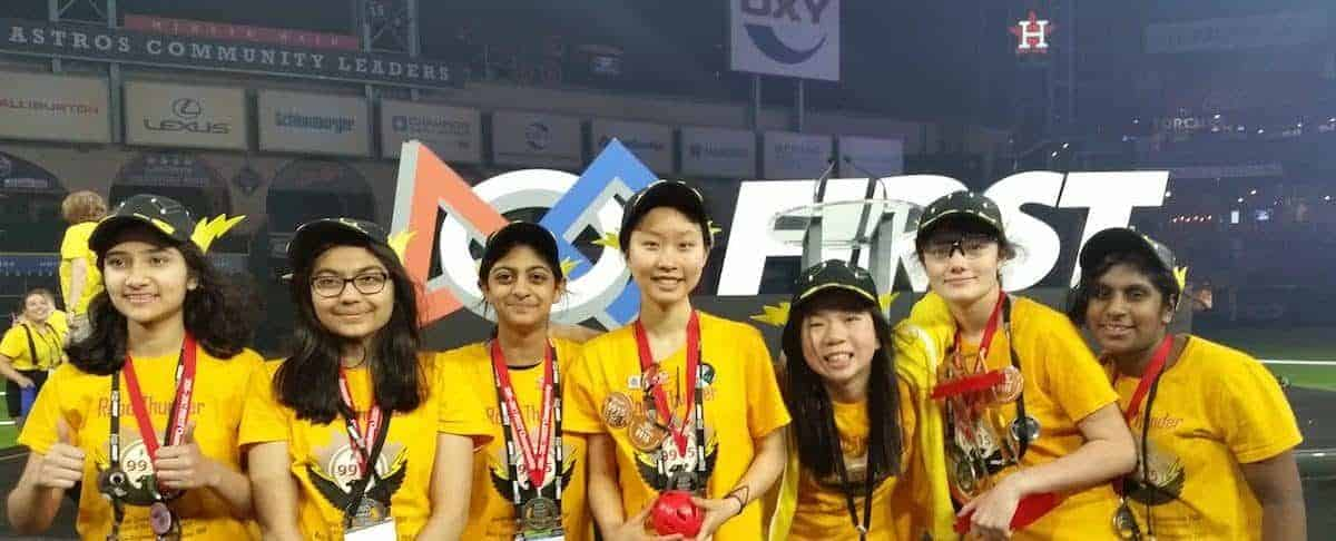 All-Girls Robotics Team from Washington State Wins Division Championship