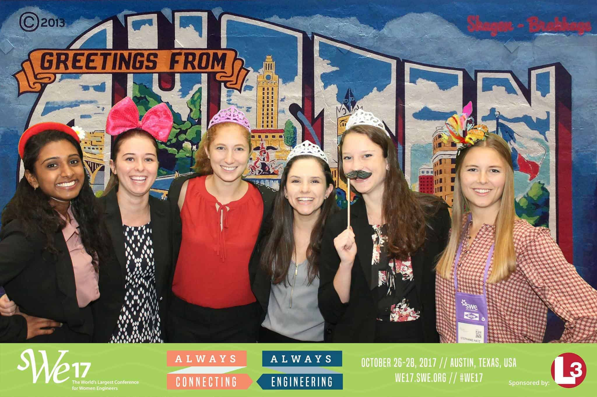 Fun Photos from our WE17 Social Media Lounge