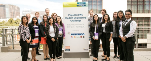 Encouraging Women in STEM: PepsiCo and SWE Kick-Off Annual Student Engineering Challenge