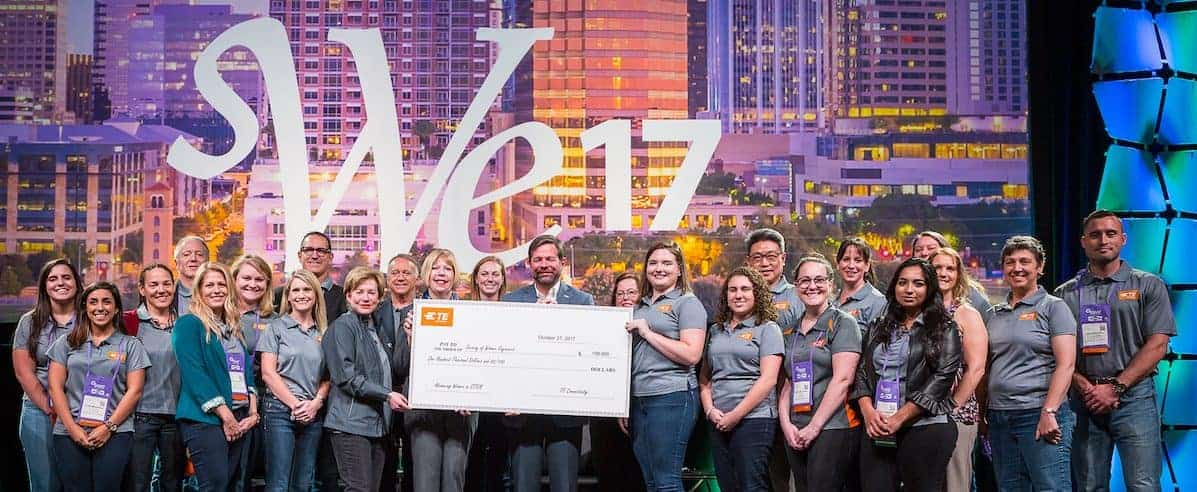 TE Connectivity Contributes $100K to SWE Scholarships