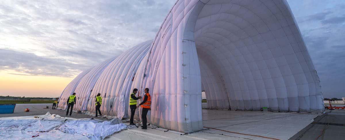 Solar Impulse 2: The Bounce House