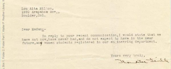 These Rejection Letters to Women Engineers Will Infuriate You