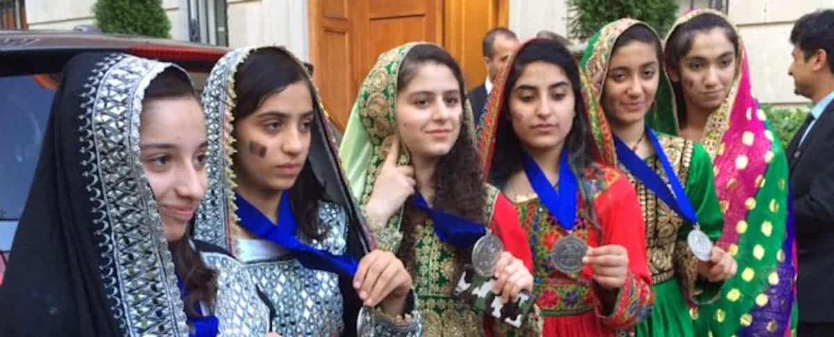 Afghan All-Girls Robotics Team Wins Silver Medal