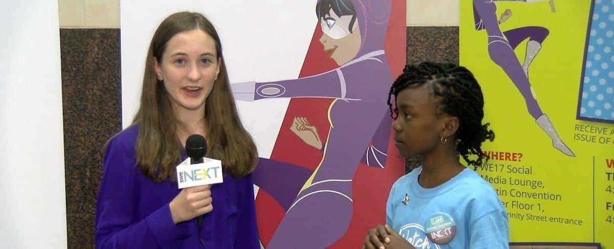 WE-TV: Our SWENext Reporter Covers WE17