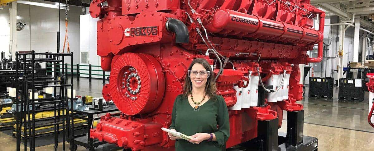 Cummins' RePower Program Allowed a Mother of Three to Reenter the Engineering Workforce