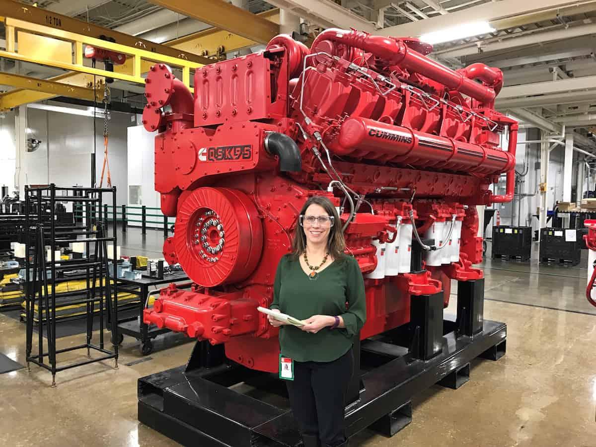 cummins u2019 repower program allowed a mother of three to