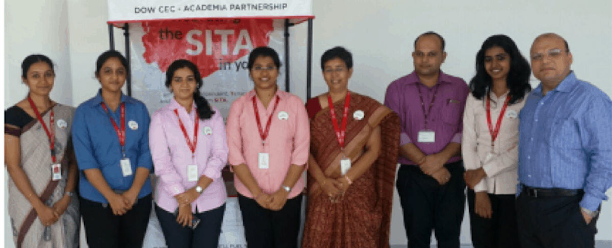 SWE's Chennai Affiliate Collaborates with Dow India