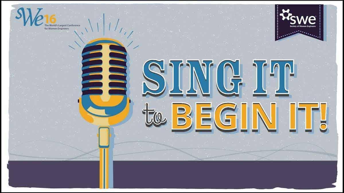 sing it to begin it