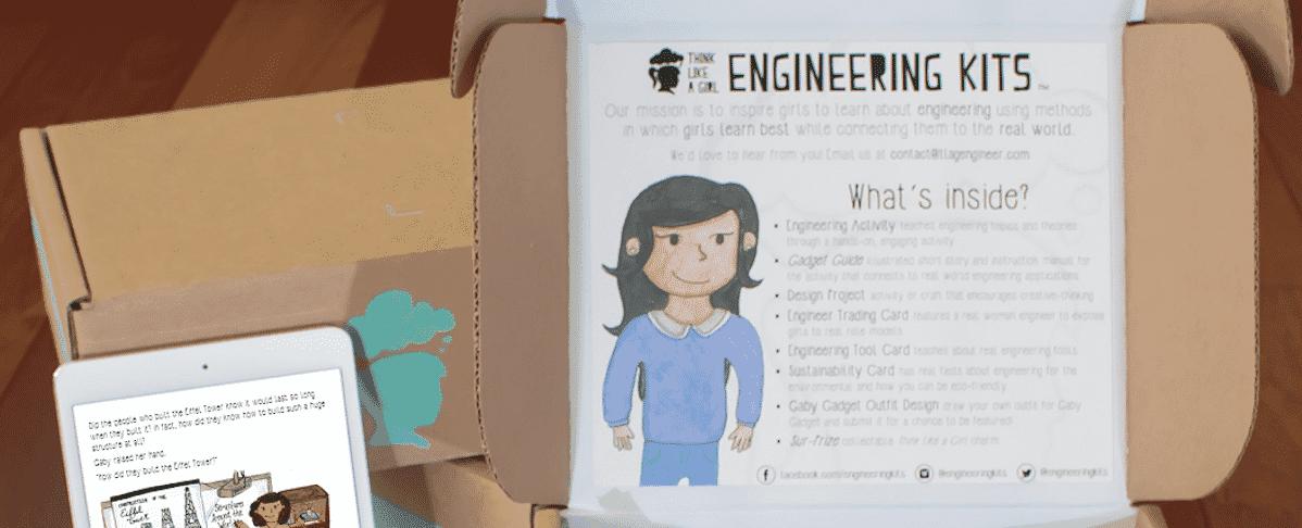 Think Like A Girl - Engineering Kits