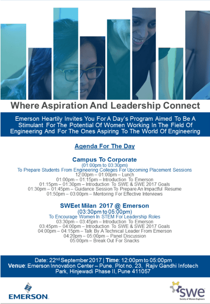 News from SWE's Affiliate in Pune, India