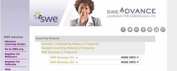 SWE Launches eLearning Series to Support Diversity in Engineering Matters
