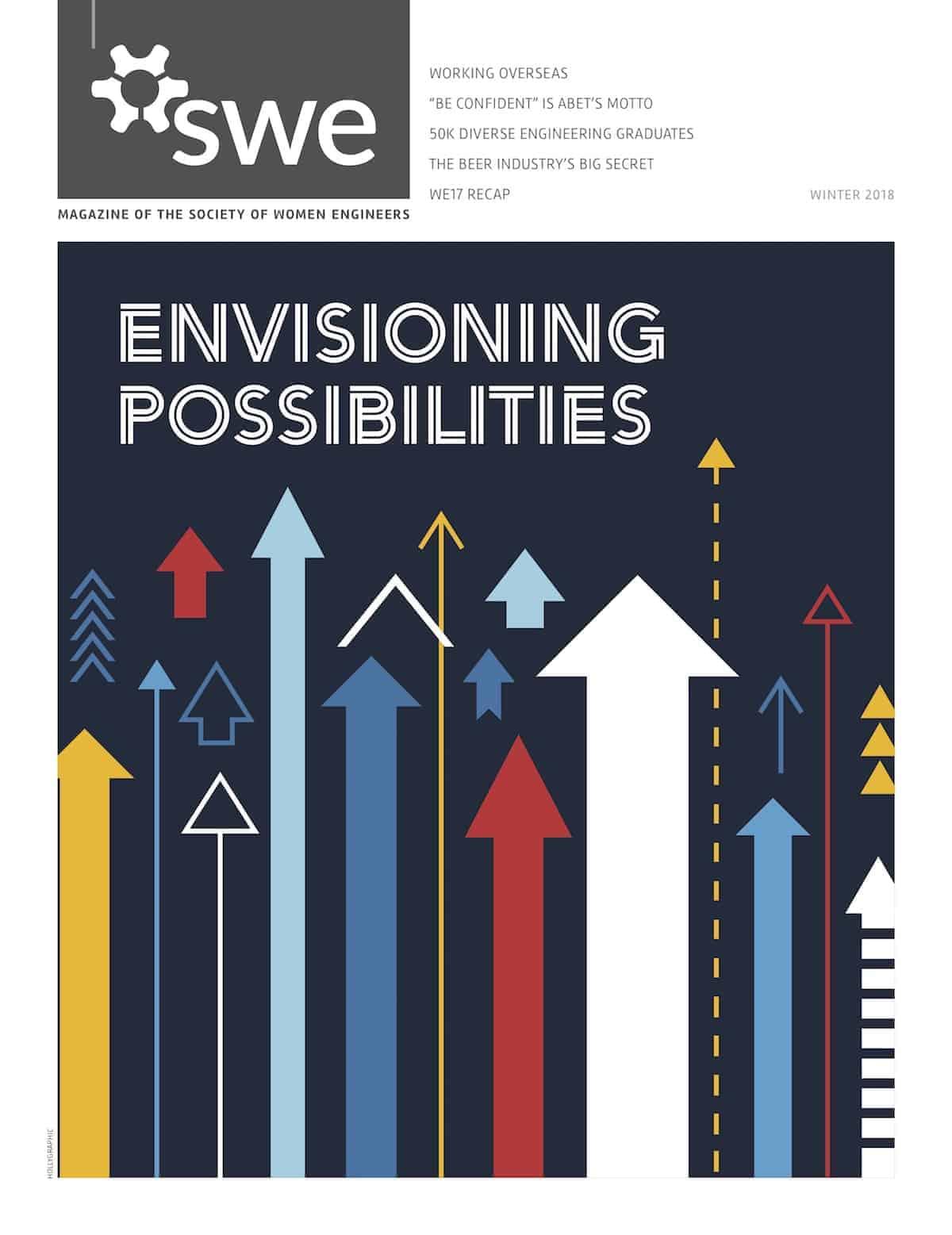Get SWE Magazine's 2018 Winter Issue Now