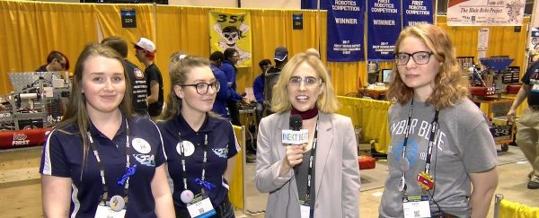 Video: SWE-Sponsored Teams Competing at FIRST in St. Louis