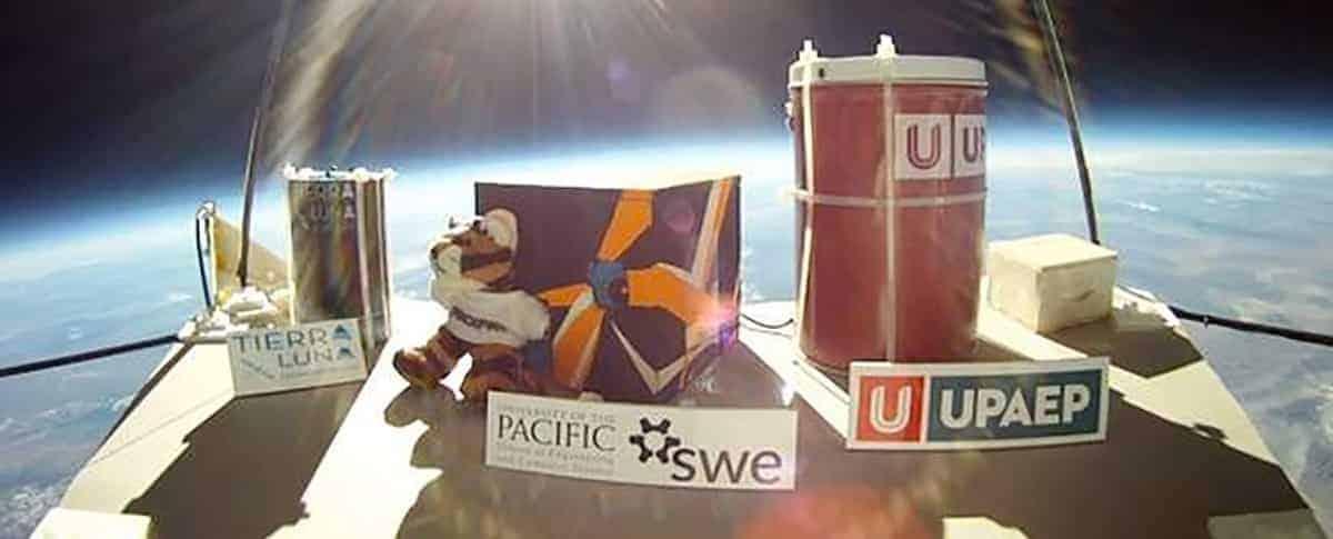 Swe Collegiates Launch Satellite Into Near Space