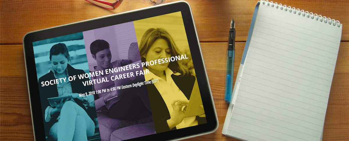 SWE's Virtual Career Fair for Professionals is May 9!