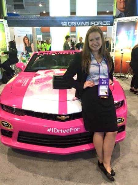 Sabrina Ridenour Talks About her Success with SWE's Career Center