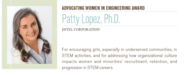Hispanic Heritage Month: Patty Lopez Advocating for Women in STEM