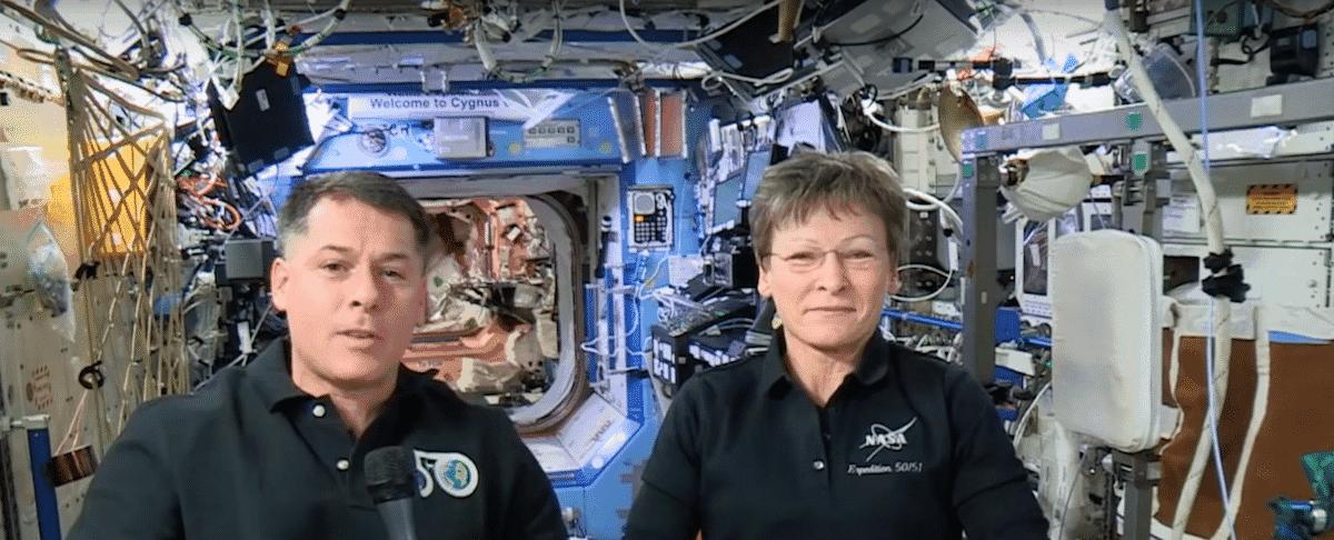 Video: Happy #Eweek2017 from Space