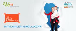 Video: Ashley Mikolajczyk is Breaking Boundaries at WE18