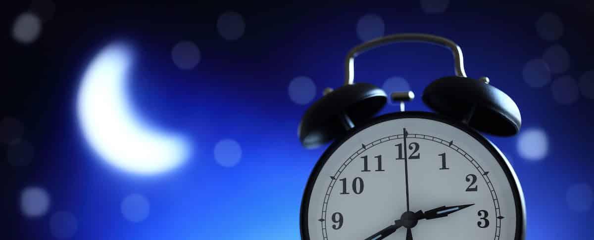 Spring Forward: Not Sleeping Through The Night May Be Natural