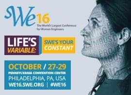 WE16 - The World's Largest Conference for Women Engineers