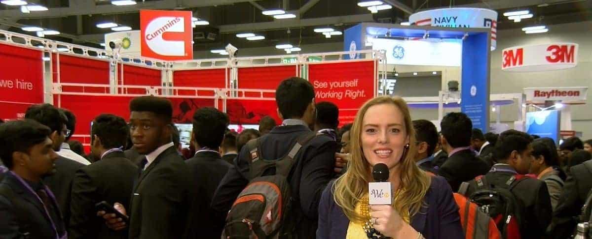 WE-TV: Career Fair at WE17