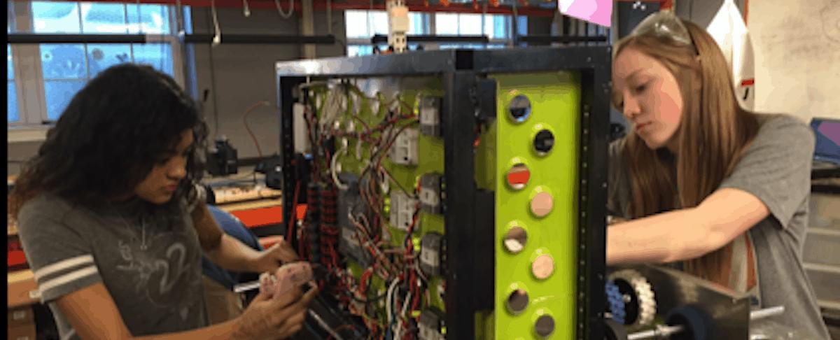 SWE-Sponsored FIRST Team Rapoport Raven Robotics Has Ambitious Designs