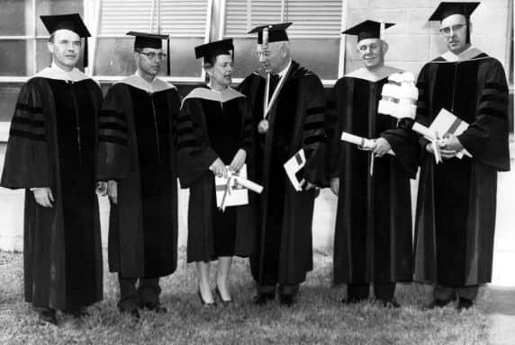 Beatrice Hicks honorary doctorate