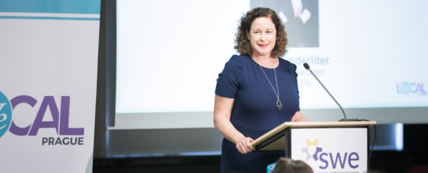 Video: WE Local Europe in Prague Opening Keynote Speaker Aisling Hinderliter