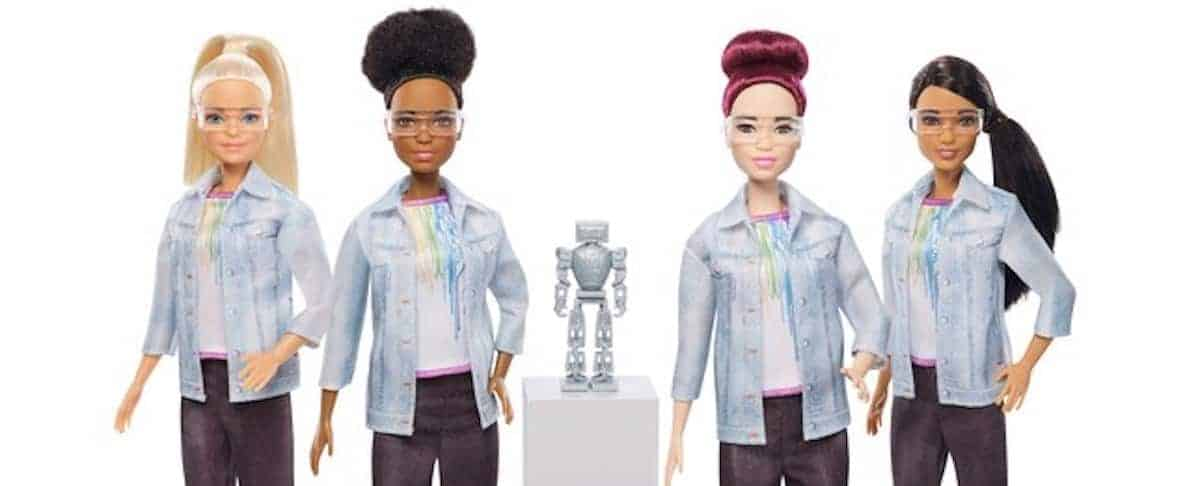 Mattel Releases Robotics Engineer Barbie