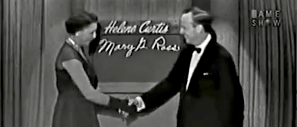 Video: Mary G. Ross – First American Indian Woman Engineer – Appears on 'What's My Line?'