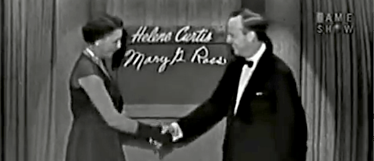 Video: Mary G. Ross – First American Indian Woman Engineer– Appears on 'What's My Line?'