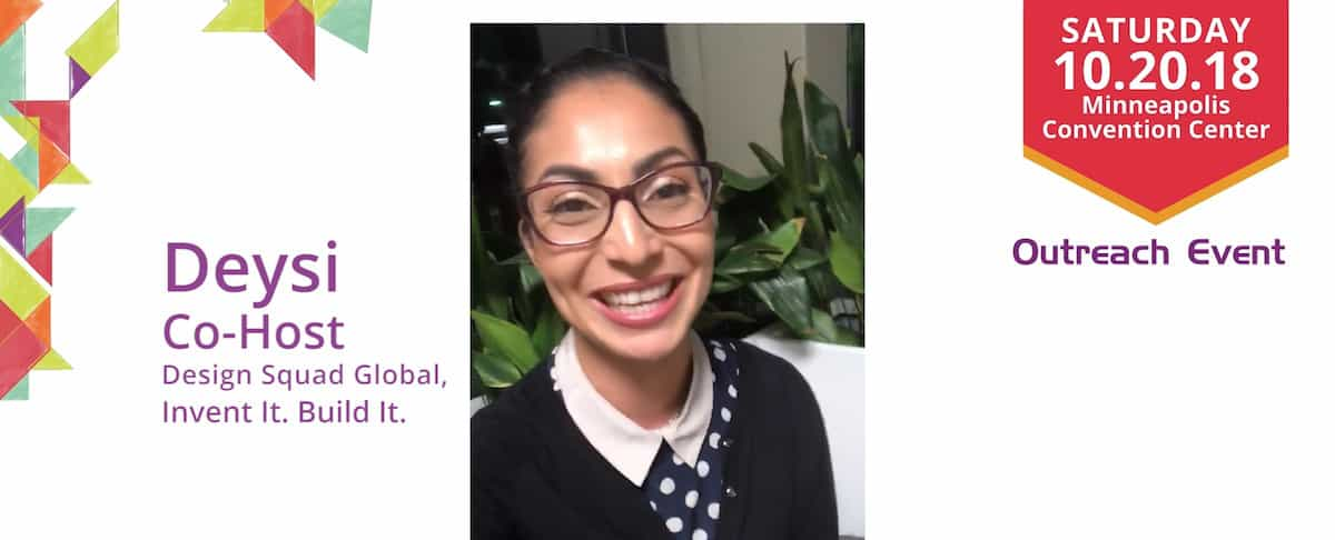 Join Deysi of Design Squad for Invent It. Build It.