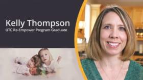 UTC Re-Empower Program Graduate Kelly Thompson on Relaunching her Career