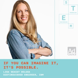 SWE Member Featured in #SheCanSTEM Campaign