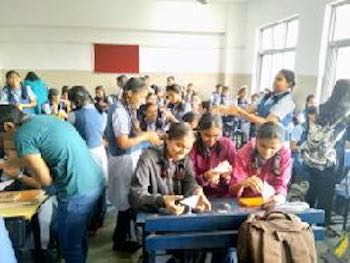 SWE CCEW Promotes STEM Education for Girls in Pune