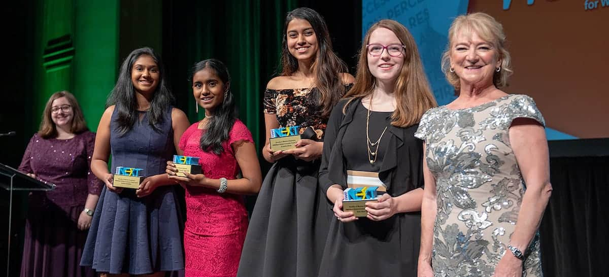 High School Students Receive SWENext Global Innovator Award from the Society of Women Engineers