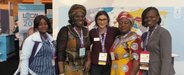 My Experience Working at the SWE Global Programs Booth at WE18