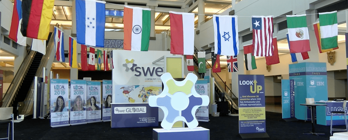 Head to the SWE Spark Center at We18