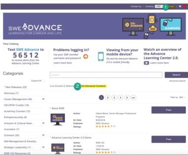 Advance Learning 2.0 Bulletin