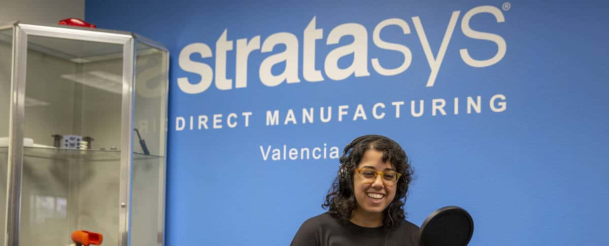 Podcast: Melody Mojib of Stratasys Talks with FY19 SWE President Penny Wirsing