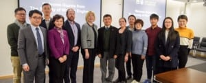 SWE HQ Leaders Meet in Shanghai with University Leaders and Corporate Partners