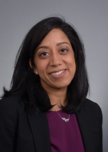 Head shot of Dr. Asha Balakrishnan