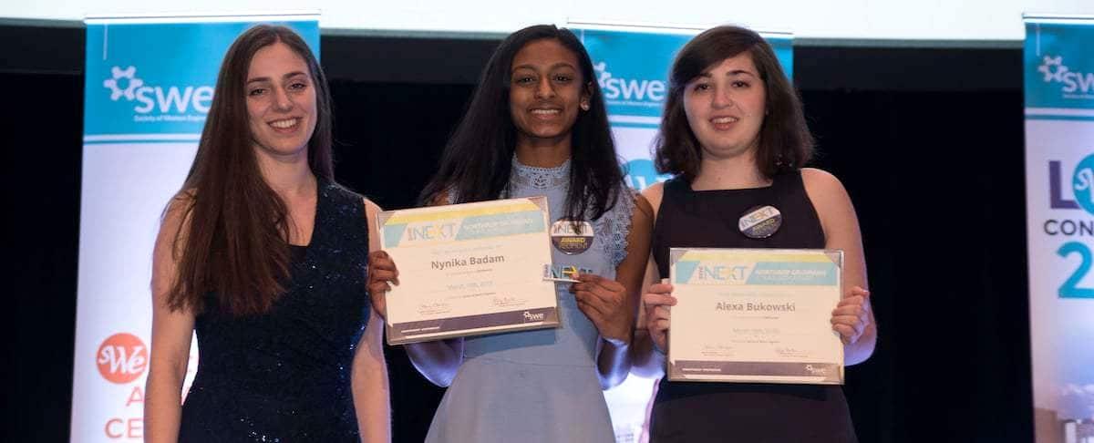 SWENext Community Award Winners